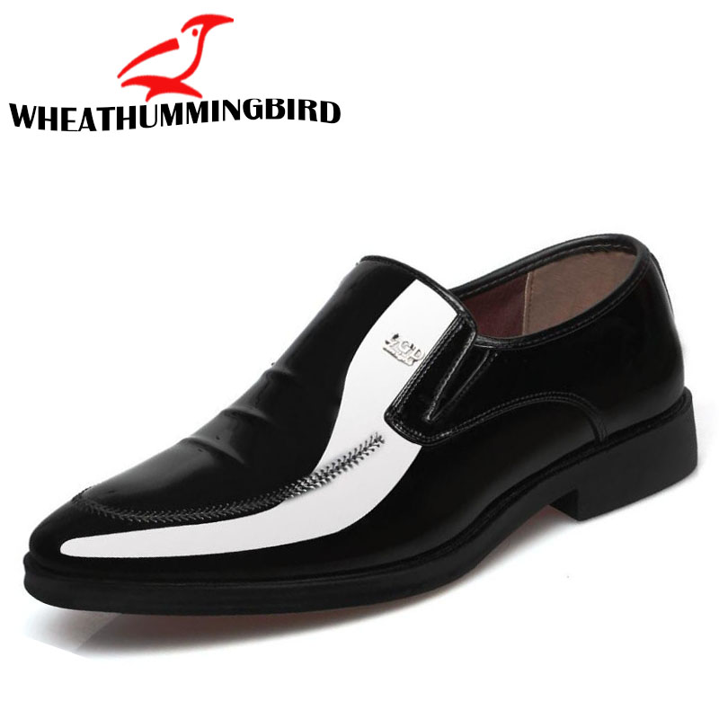 style A B Brown De Style Italien 64 Mocassins Le Grande Black Black C stylea En Mariage Chaussures Casual White style Bureau Taille Hombre Cuir style style Bule Laceup Black Zapatos Homme Derby E Hommes D Robe style Hw1q6