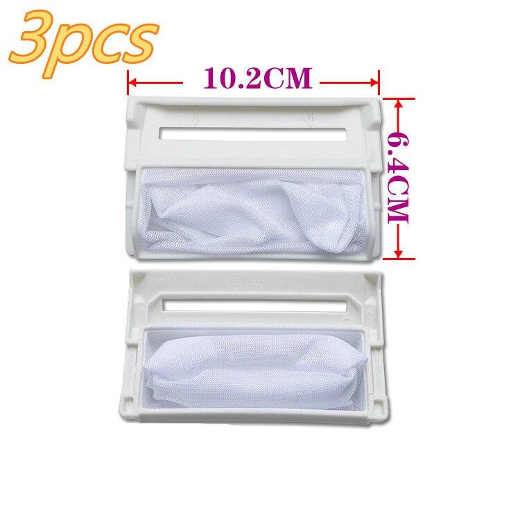 3 pcs peças de reposição para a máquina de lavar roupa Adequada para lg 5231FA2239N-2S.W.96.6 para peças de filtro máquina de lavar roupa máquina de lavar roupa lg