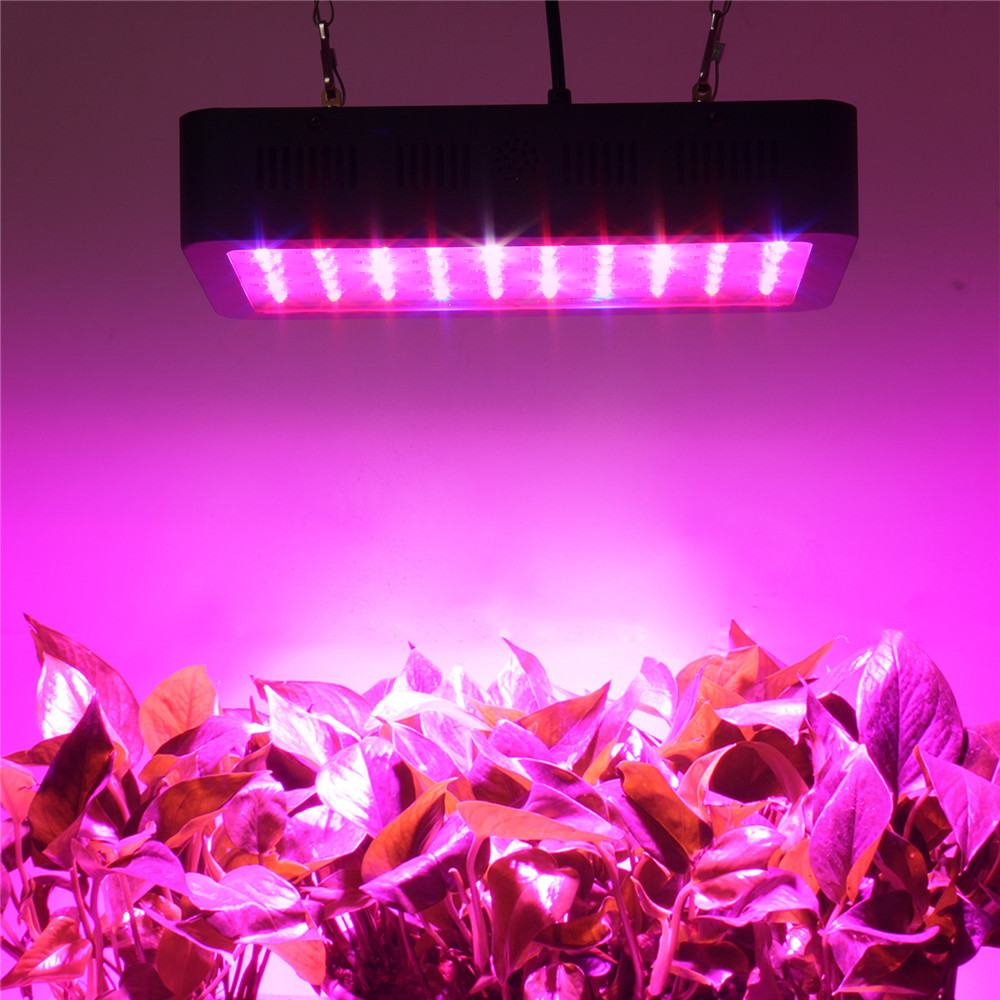 LED Grow Light 300W Full Spectrum Growing Lamp Indoor Hydroponic Greenhouse LED Plant All Stage Growth Lighting led grow lisht led grow light 450w greenhouse lighting plant growing led lights lamp hydroponic indoor grow tent high par value double chips