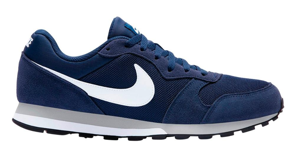 check out 726af 927b4 US $65.02 |Nike md 2 runner CASUAL SHOES FOR MAN and WOMAN, navy blue  color. retro running shoes lifestyle, urban FASHION, streetstyle.-in  Running ...