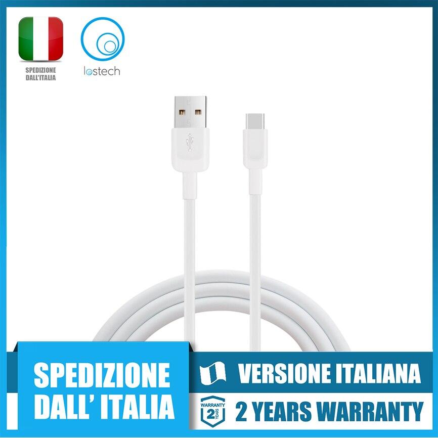 Lostech LS C01 cavo usb cable type c 300cm   carica rapida   spedizione rapida dall'italia Mobile Phone Cables     - title=