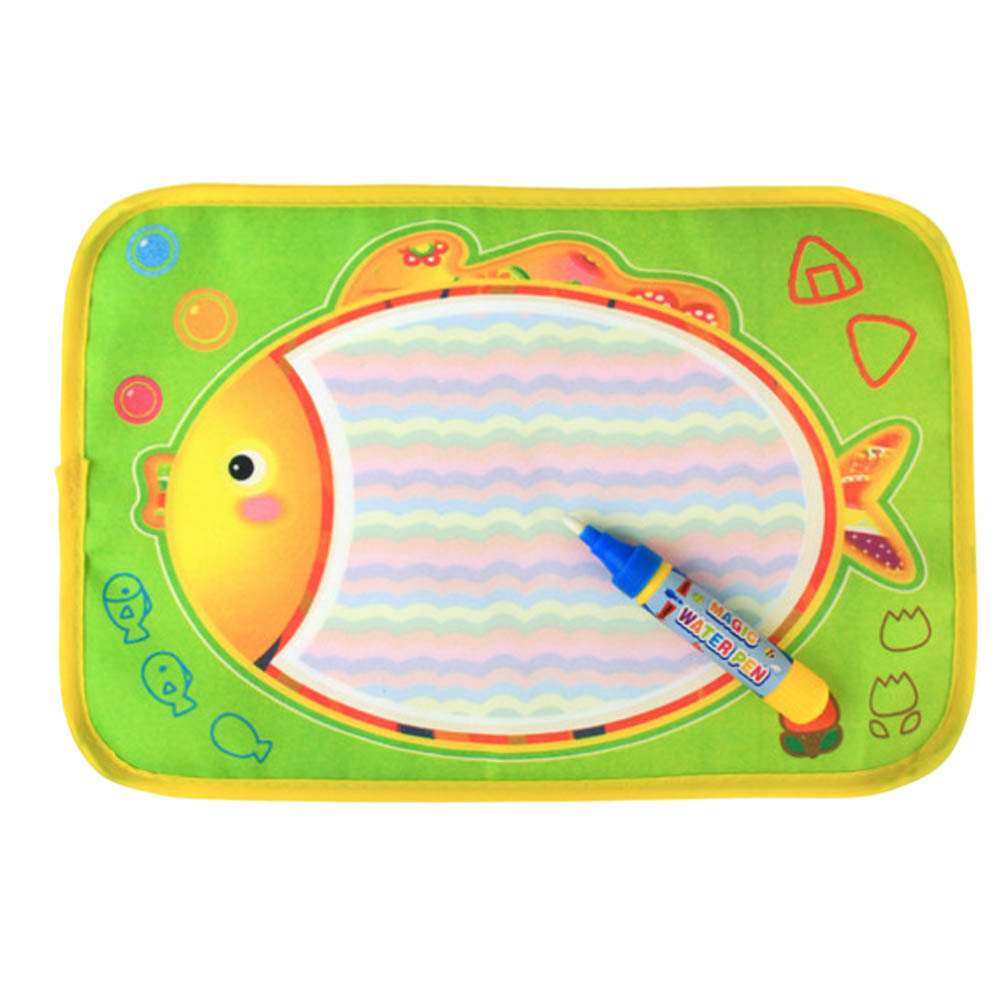 Magical Water Painting Drawing Mat Board Blanket With 1 Pen Children Education Learning Toy