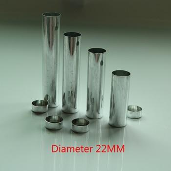 100pcs Diameter 22mm Empty Aluminum Tube Dental Lab Aluminum Cartridges Can S M L Valplast Denture Material Empty Cartridge