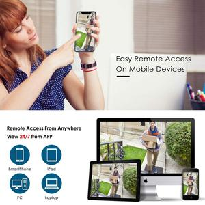 Image 5 - ANRAN 1536P HD 4CH POE Outdoor Wasserdicht Überwachungs System Nachtsicht IP Kameras Kits CCTV System Für Home