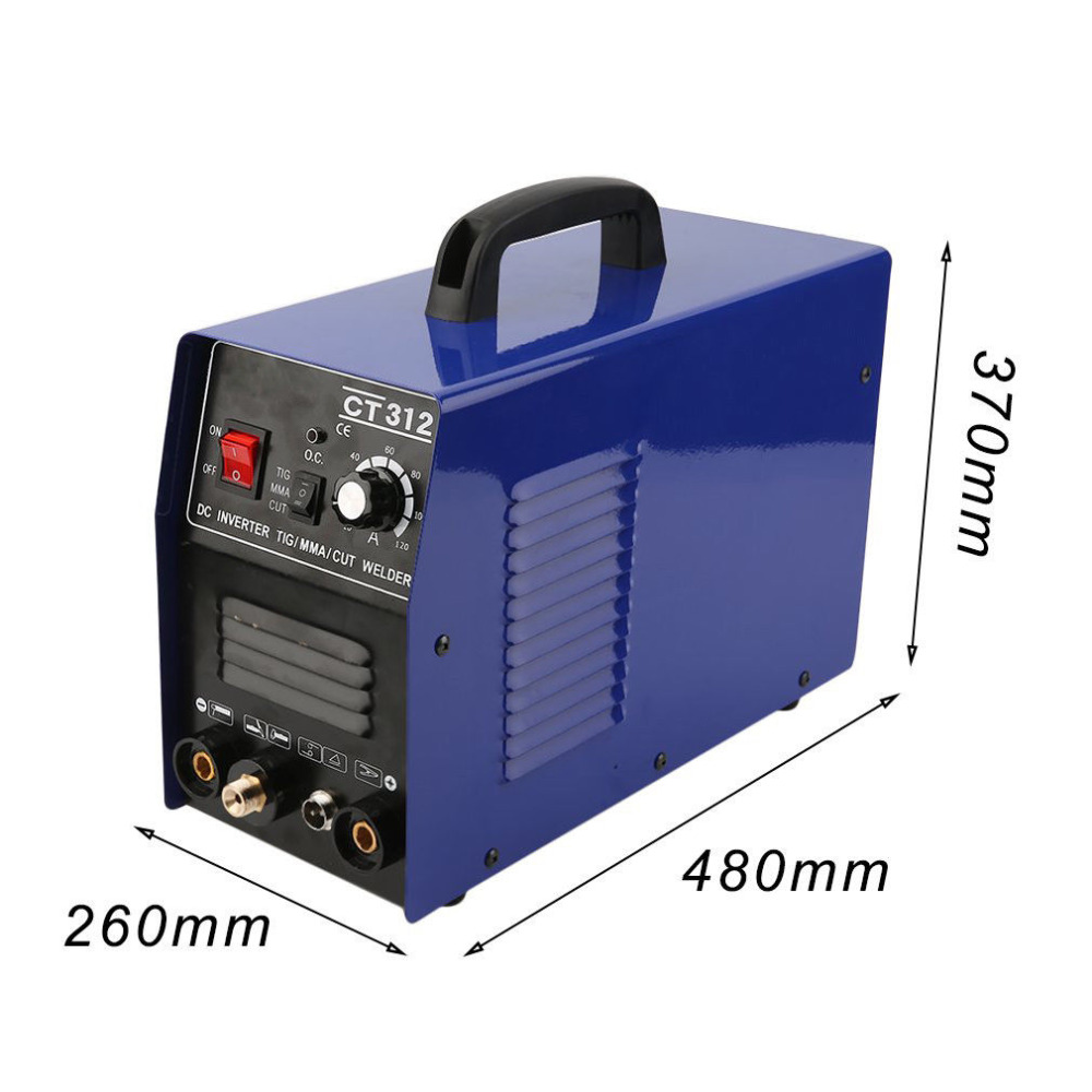 CT312 3IN1 Welding machine TIG//MMA//Plasma cutter welder /& torches /& accessories