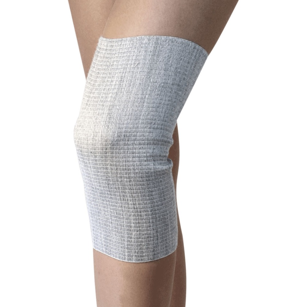 Knee heating, neck joint, cold treatment, health, foot care keep warm, gift, knee strap with merino wool, L 42-44, Ecosapiens