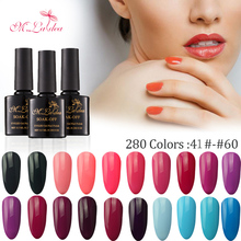 M.Ladea UV Gel Nail Manicure 8.3ML Hybrid Lacquer Polish 280 Color Professional Glue Soak Off