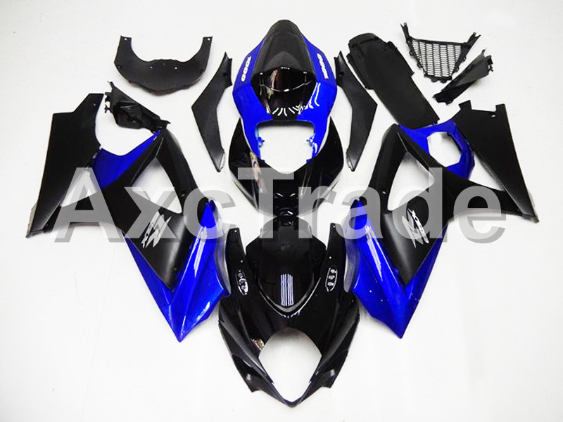 Motorcycle Fairings For Suzuki GSXR GSX-R 1000 GSXR1000 GSX-R1000 2007 2008 07 08 K7 ABS Plastic Injection Fairing Kit Black 152 abs plastic fairing kit for suzuki gsxr1000 2007 2008 k7 gsxr 1000 07 08 red black moto fairings set cb34 7 gifts