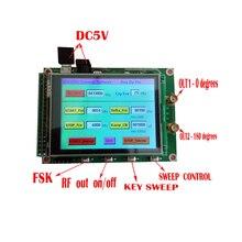 새로운 ADF4351 RF 스윕 신호 소스 생성기 보드 35M 4.4G + STM32 TFT 터치 LCD