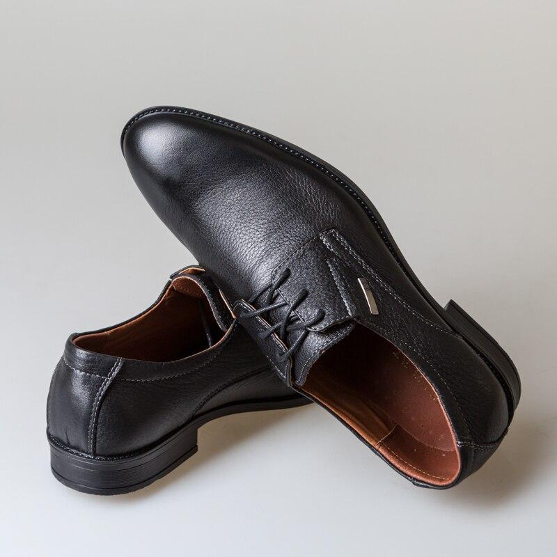 Y de los hombres de cuero botas primavera Otoño e Invierno zapatos de hombre Zapatos de tobillo botas de hombres de nieve zapatos de trabajo más tamaño 39 -44 000-019