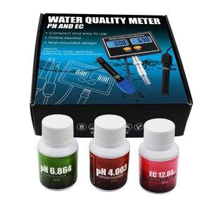 Image 5 - Онлайн PH & EC измеритель электропроводимости тестер ATC, качество воды в реальном времени непрерывный мониторинг для аквариума, пруда