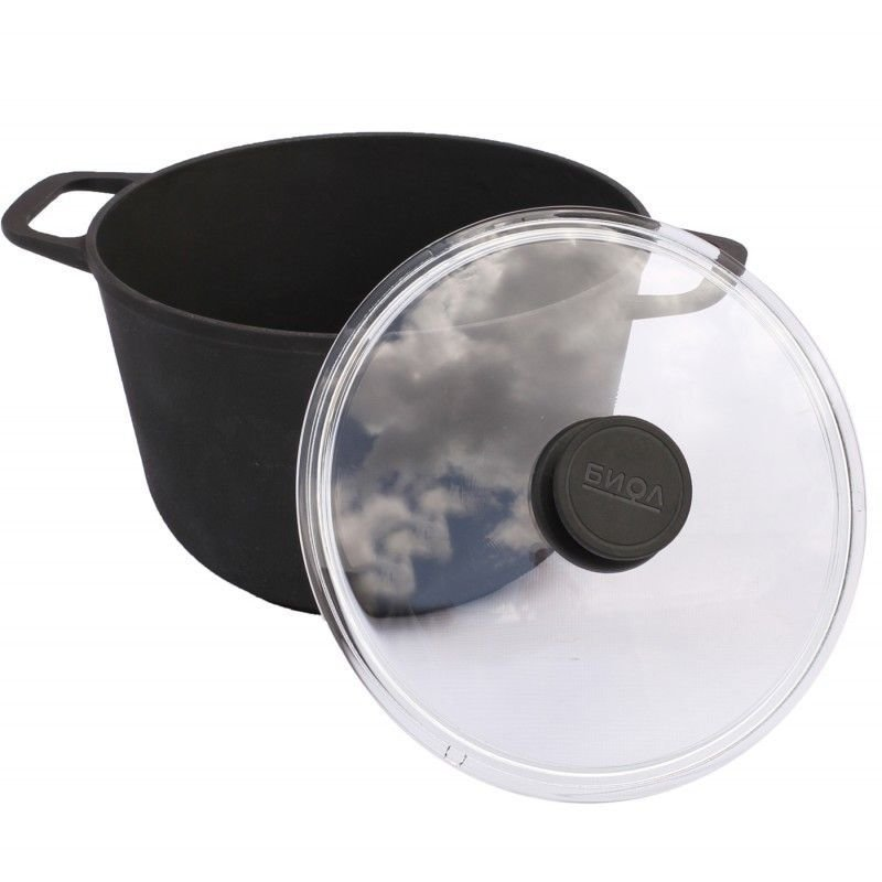 Frying Pan Cauldron Cast Iron With Glass Pot Cower Hand   Grill  Coffee Pot Bowler Pan Frying Pan Mug 0203C