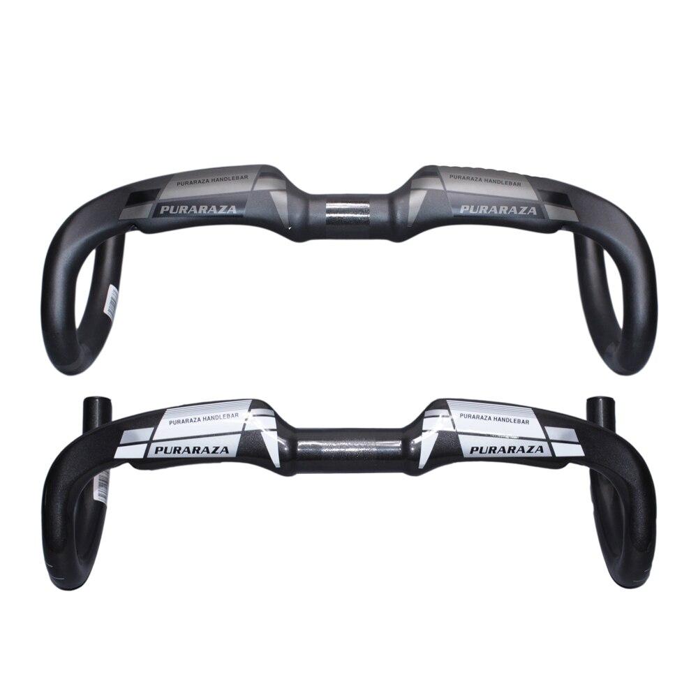 TOSEEK 31.8 *400//420//440mm Carbon T800 Lenker Fahrrad Drop Gloss//Mat Handle Bar