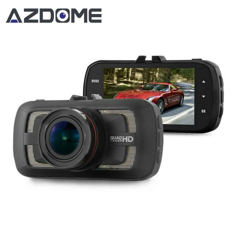 Azdome DAB205 Ambarella A12 Dash Cam FULL HD 1440P 30fps Car DVR Camera 3 0 LCD