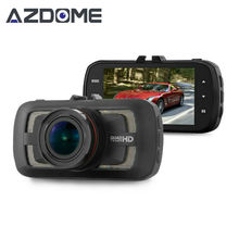 Azdome DAB205 Ambarella A12 Dash Cam FULL HD 1440P 30fps Car DVR Camera 3.0″ LCD Video Recorder G-sensor ADAS GPS Optional H35