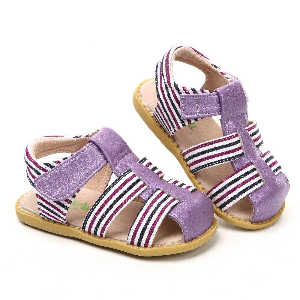 Tipsietoes бренд 2018 летние пляжные сандалии дети с закрытым носком малыша сандалии детская модная дизайнерская обувь для мальчиков и девочек ...