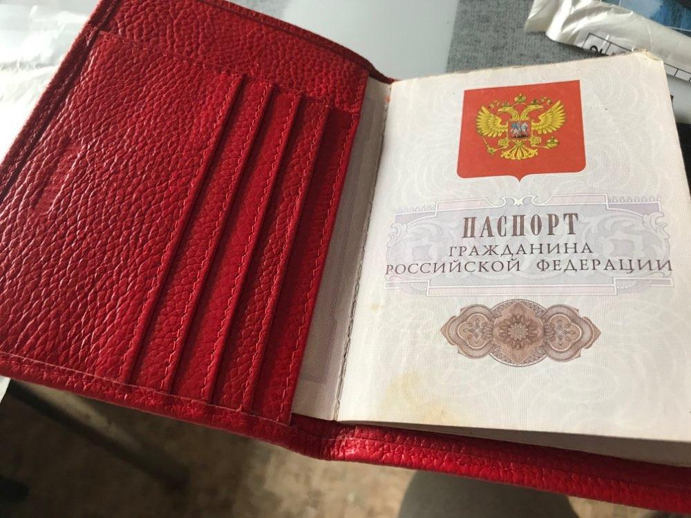 Vrouwen Echt Lederen Paspoort Cover Russische Embleem Logo Credit Kaarthouder Reis Document Cover Paspoort Houders B598-48 photo review