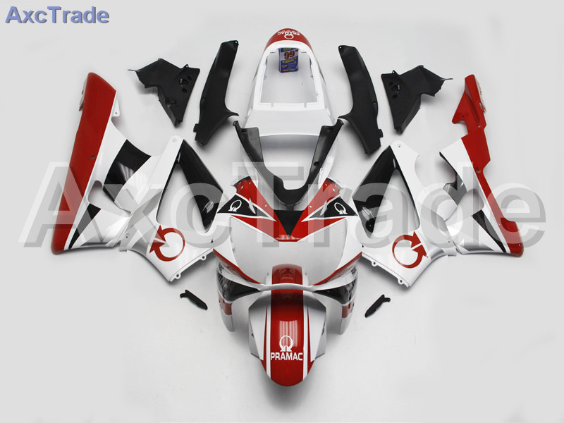 Motorcycle Fairings For Honda CBR 929 900 RR 929RR 00 01 900 2000 2001 CBR900RR ABS Plastic Fairing Kit Bodywork Red White A170