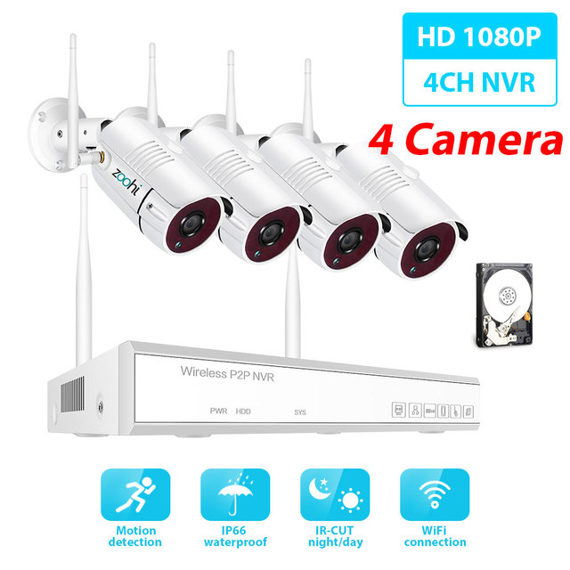 1080P 4 Camera 4CH