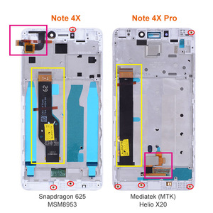 Image 3 - Orignal IPS LCD For Xiaomi Redmi Note 4X / Redmi Note 4 Global LCD Display Replacement Screen with frame Only For Snapdragon 625