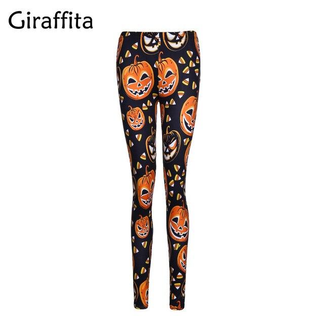 Giraffita Leggings Halloween Day SEXY New Women's Legging Ghost ...