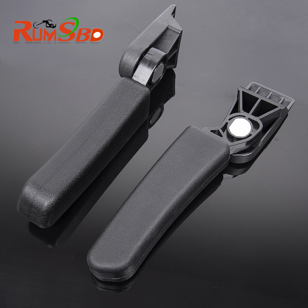 Drilling Required For BMW R1200GS LC Adventure Aluminum Rear Box Passenger Armrest G310 GS F800GS ADV Tail Box MT-09 Tracer