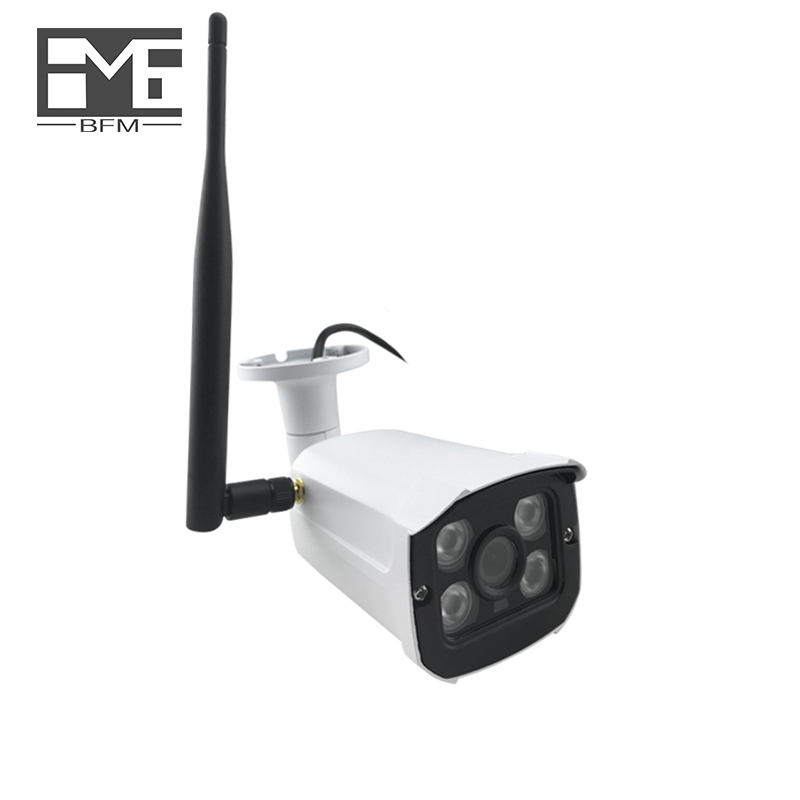 BFMore TF Card Slot Wireless IP Camera 1.0MP 720P Network P2P Wifi IR Night Vision Outdoor Indoor Security Surveillance BFMore TF Card Slot Wireless IP Camera 1.0MP 720P Network P2P Wifi IR Night Vision Outdoor Indoor Security Surveillance