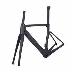 Rama rowerowa Aero Carbon Road hamulec tarczowy UD matowy zestaw ramek BSA /BB30/PF30