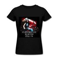 Heavy Metal Rock Metallica Rock Band New Black T Shirt 80s Vintage Summer Tops Women Men