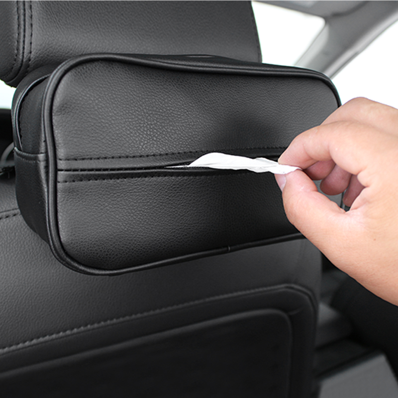 KEEP TOP Car Tissue Box,PU Leather Tissue Holder Pumping Paper Case,Auto universal Sun Visor Paper Organizer Napkin Container цена