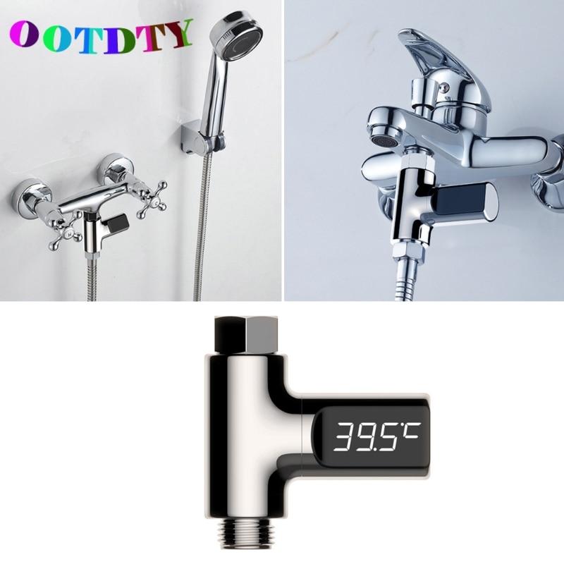 OOTDTY Shower font b Thermometers b font font b Digital b font Temperture Meter LED Display