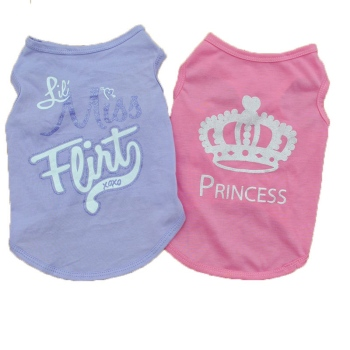 Dog Shirts Girl Dog Clothes Jumpsuit Sphynx T Shirt For Cat XS Cat Cute Princess Summer Clothes Vest Cheap Costumes Out E