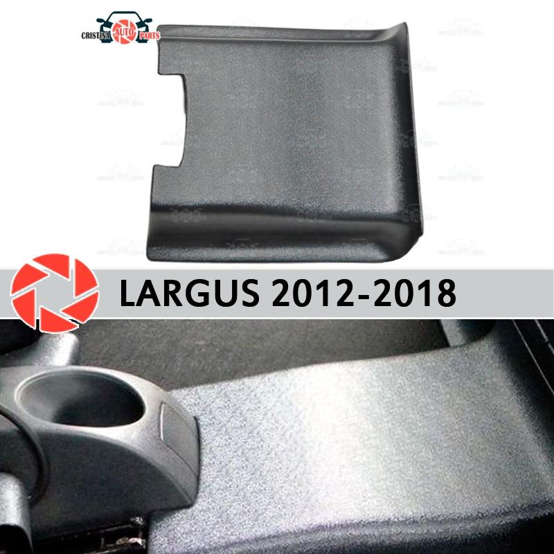 Achter tunnel cover voor Lada Largus 2012-2018 onder voeten trim accessoires bescherming tapijt auto styling decoratie
