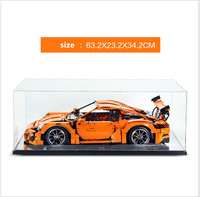 the display case box for lego technic 42056 lego Bugatti Chiron 42083 series building block model 3368 20001 20086 (only box)