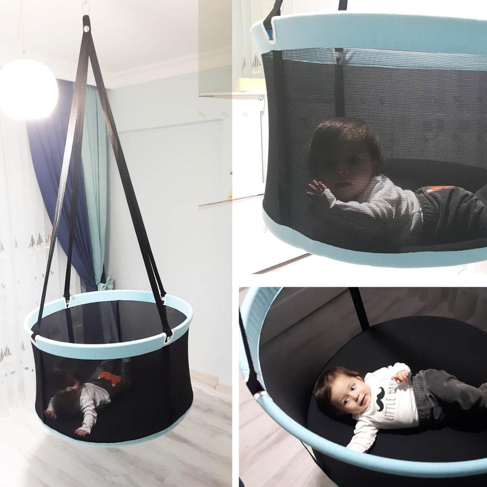 Hanging Baby, Toddler Basket Bassinet Swing Hammock For Indoor Or Outdoor Svava Basket Swing Nursery Baby  Hammock Swing, Cradle