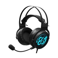 Gaming Headset with Microphone Newskill Kimera V2 LED RGB 15 mW Black|  -