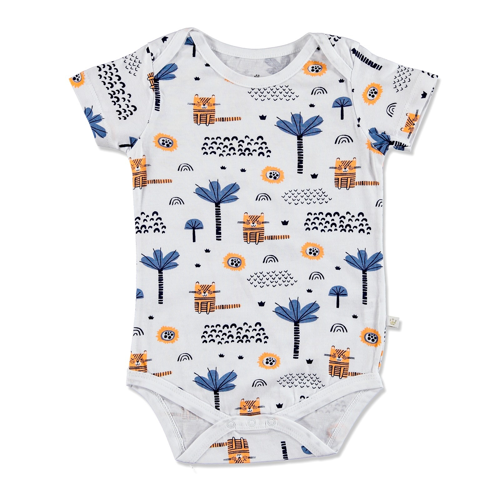 Ebebek For My Baby Summer Boy Alf Supreme Short Sleeve Bodysuit