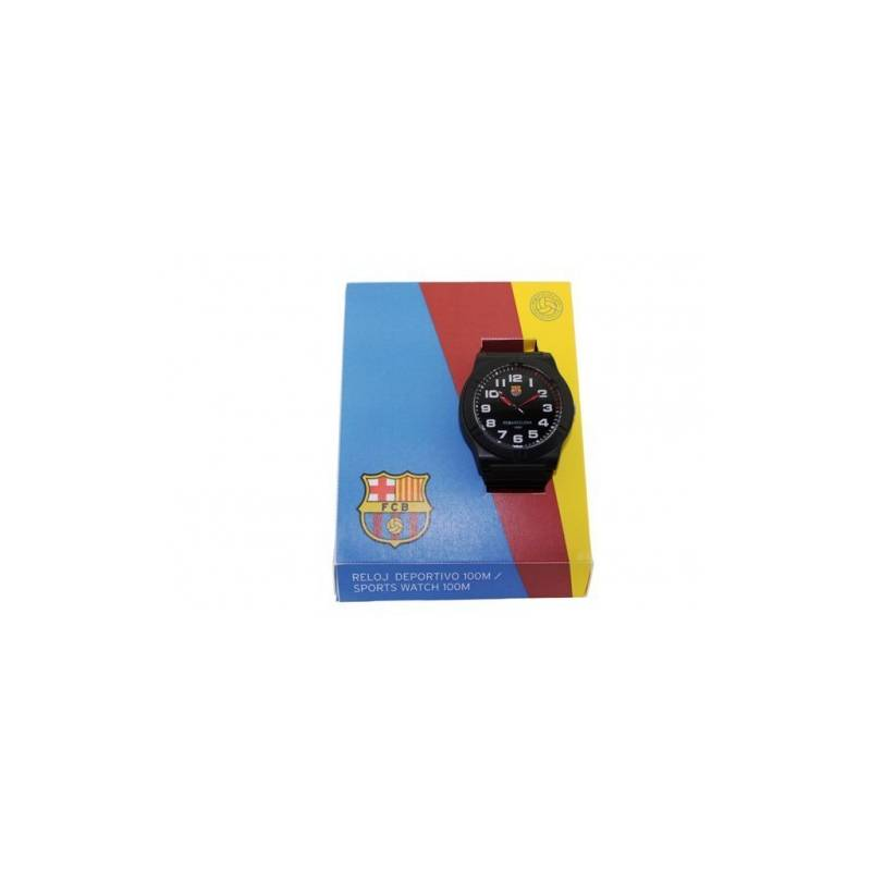 FC Barcelona Watch Sport Black
