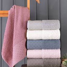 Bath Towel Set %100 Cotton 6pcs For Adults Quick Dry Easy Cleaning Bathroom Face Compressed multi-colored towel set