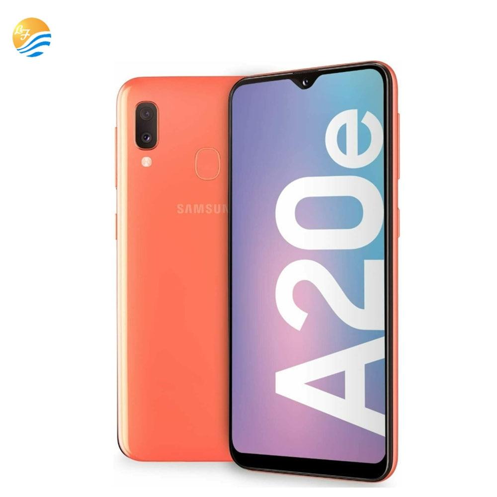 Разблокированный смартфон Samsung Galaxy A20E A202F/DS, 3 Гб ОЗУ 32 Гб ПЗУ, Восьмиядерный процессор, две SIM-карты