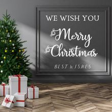 Wish you A Merry Christmas Wall Sticker Decal Christmas Sticker Home Livingroom Wall Art Decoration A0068392 the christmas wish