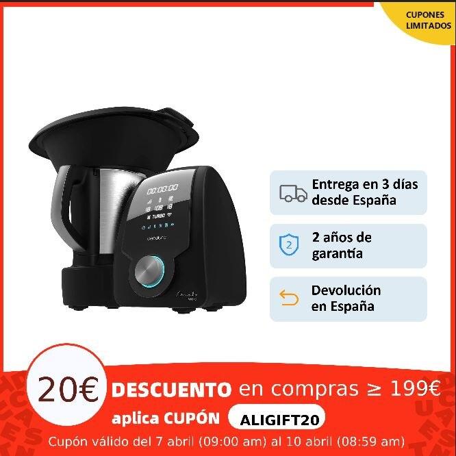 Cecotec Robot De Cocina Mambo para Hogar con 30 Funciones Pantalla Digital, 8590 9090 9590 10090, con báscula, App intuitiva Multiollas  - AliExpress