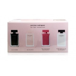 NARCISO RODRIGUEZ FOR HER EDT + MINI FOR HER EDP + FLEUR DE MUSC MUSC PURE 7.5 ML EDP +