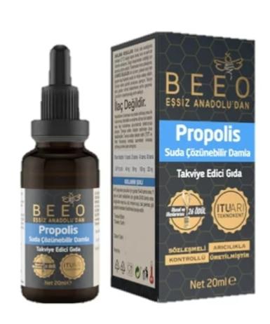 unique anatolian beeo propolis water-based drop anti-inflammatory strong immunity has antibacterial antiviral antioxidant