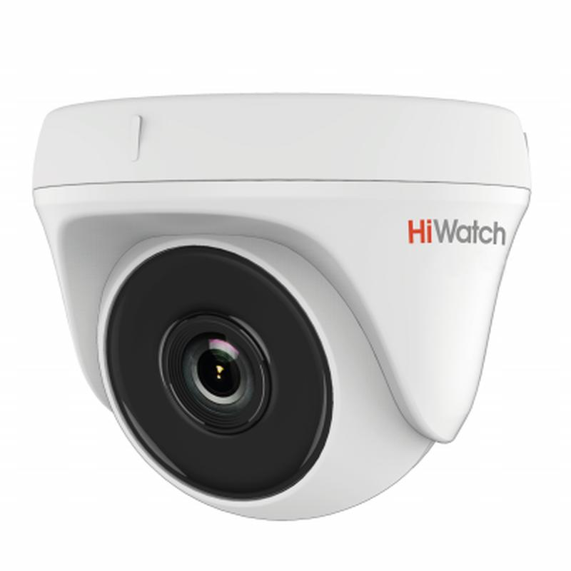 HiWatch DS-T133 - Indoor Dome HD-TVI Camera, 1Mp, 720p Camera, HD TVI 720p, HD TVI, HD TVI Camera, Security Camera, Cctv Camera, Hd Camera, Cctv Camera System, Hiwatch, Indoor Camera, Analog Camera, Camera Analog Hd