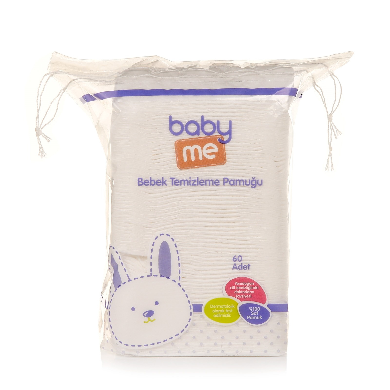 Ebebek Baby&me Baby Cleaning Cotton Pads 60 Pcs