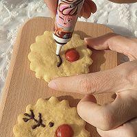 """#美食说出""""新年好""""#麋鹿苏打饼干&雪人巧克力奶的做法图解8"""