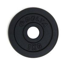2 pces 1 kg haltere pesos de disco para fitness levantamento de peso equipamento crossfit barbell ginásio força muscular exercício barbell