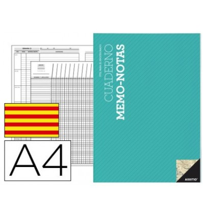 NOTEPAD SOFTY ADDITIO A4 EVALUATION CONTINUOUS PLANNING WEEKLY ACTIVITIES IN CATALAN