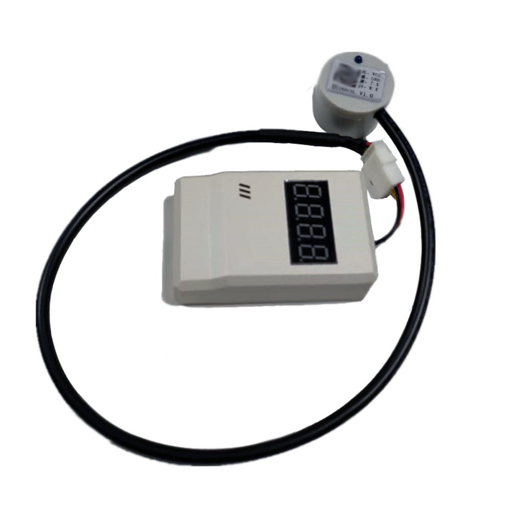 Taidacent Ultrasonic Fuel Level Sensors Water Level Detection Display Ultrasonic Fuel Level Detector Car Oil Tank Level Sensor